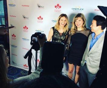 Trish & Katie with Shannon Kook